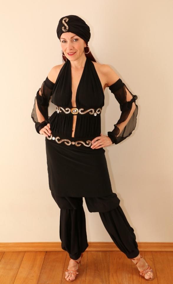 Araabia tantsija pükskostüüm