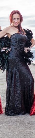 Glamuurne litterkleit Marilyn Monroe ja Casino Royale stiilis